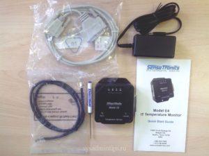 Комплектация контроллера температуры Sensatronics Model E4