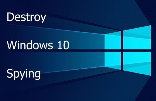 Обзор бесплатных программ для отключения слежки Windows в 10
